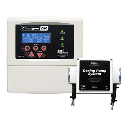 Chemigem D10 P Auto Dosing System - from Austral Pool & Spa
