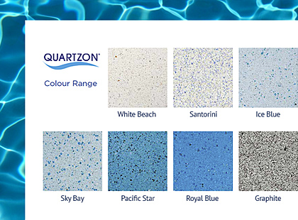 Quartzon Colour Chart